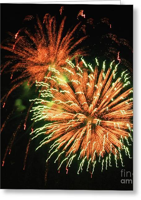 Krista Greeting Cards - Fireworks Twenty Greeting Card by Krista Kulas