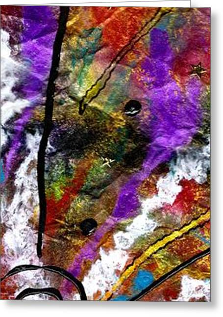 Survivor Art Greeting Cards - First Date Greeting Card by Angela L Walker