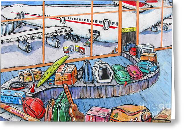 New Greeting Cards - First Flight Greeting Card by Pamela Iris Harden