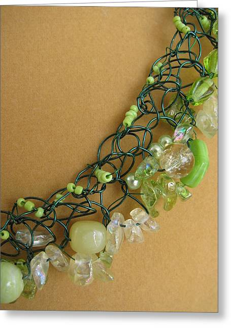 Noodles Jewelry Greeting Cards - First Sign of Spring Greeting Card by Annette Tomek
