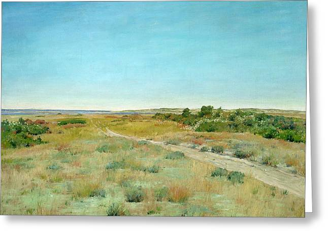 Prairies Greeting Cards - First Touch of Autumn Greeting Card by William Merritt