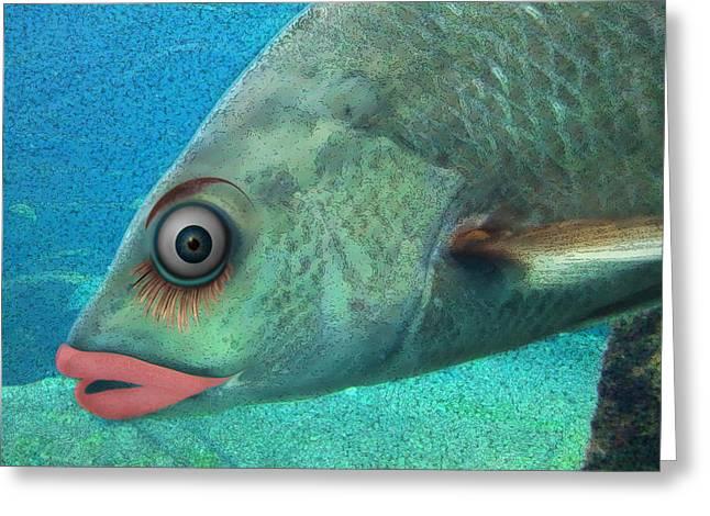 Steve Sperry Greeting Cards - Fish Seeking Fish  Greeting Card by Steve Sperry