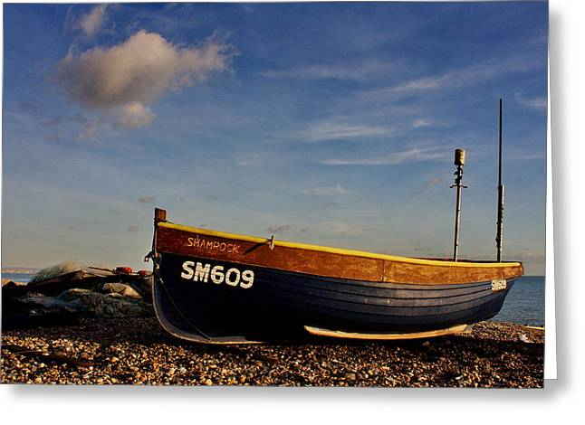 Fishing Boats Greeting Cards - Fishing Boat Greeting Card by Phil Clements