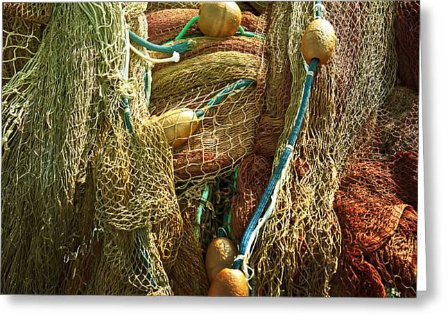 fishing nets Greeting Card by Joana Kruse