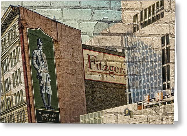 Minnesota Photo Greeting Cards - Fitzgerald Theater St. Paul Minnesota Greeting Card by Susan Stone