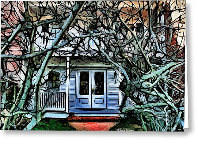 St. Michael Greeting Cards - Five Gables Inn of St Michaels Greeting Card by Stephen Younts