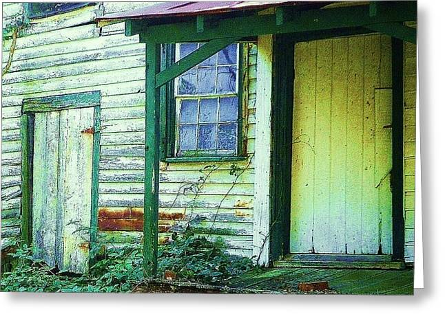 Old House Photographs Greeting Cards - Fixer Upper Greeting Card by Diana Chason