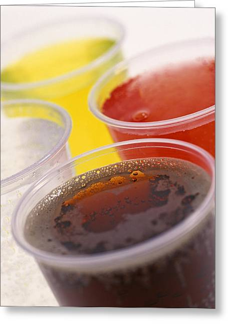 Flavorings Greeting Cards - Fizzy Soft Drinks Greeting Card by Kevin Curtis
