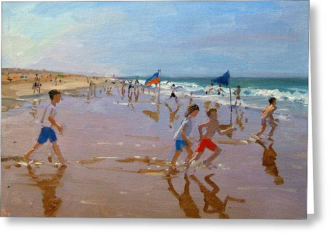 French Memories Greeting Cards - Flags and reflections Greeting Card by Andrew Macara