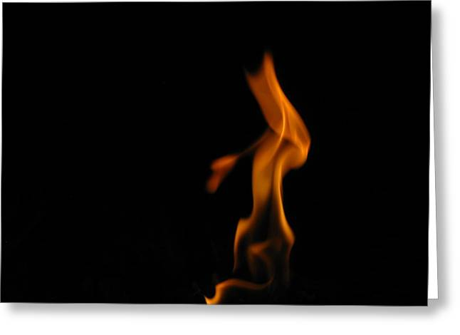 Shane Brumfield Greeting Cards - Flame 1 Greeting Card by Shane Brumfield