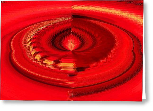 Flames Pastels Greeting Cards - Flame Greeting Card by Melvin Moon