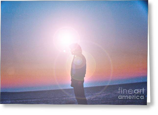 Joanne Kocwin Greeting Cards - Flare Greeting Card by Joanne Kocwin