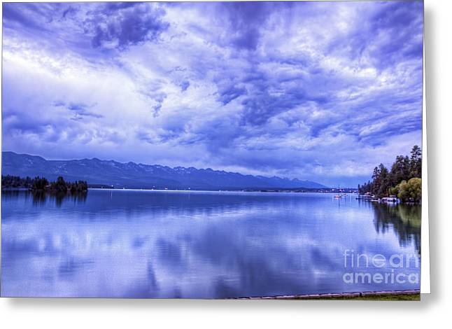 Scotts Scapes Greeting Cards - Flathead Blues Greeting Card by Scotts Scapes