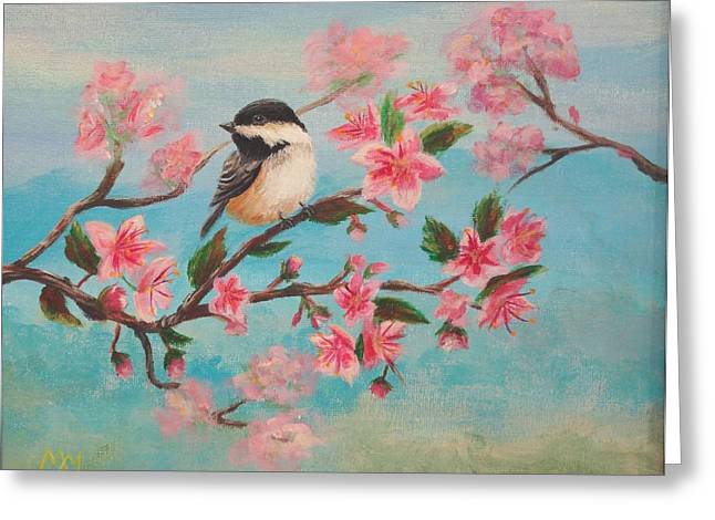 Flathead Spring Blossoms Greeting Card by Misty Mueller