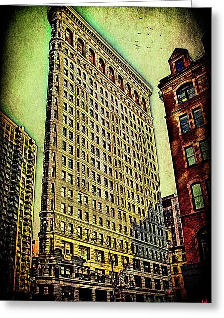 Flatiron Building Again Greeting Card by Chris Lord