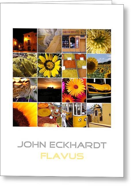 Vlinder Greeting Cards - Flavus Greeting Card by John Eckhardt