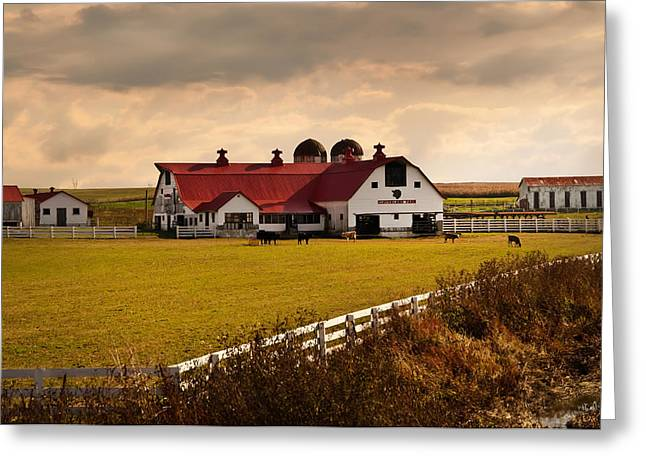Flemingsburg Farm Ky Greeting Card by Randall Branham