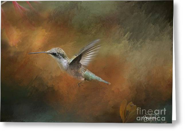 Flight of the Angel  Greeting Card by Cris Hayes