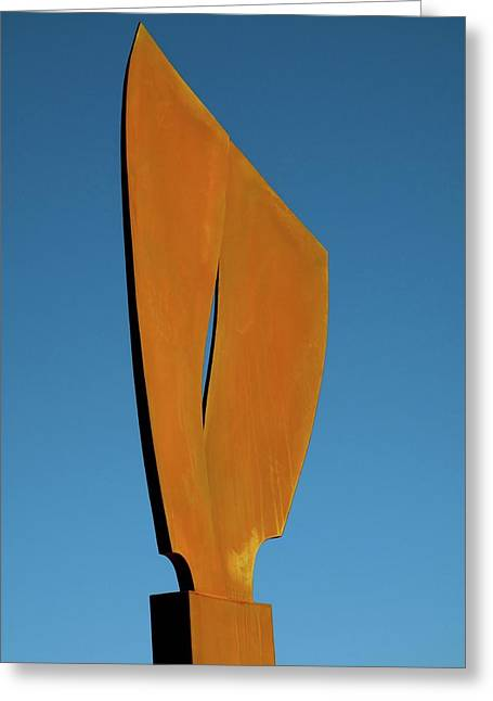 Weld Sculptures Greeting Cards - Flight-Second Image Greeting Card by Robert Hartl