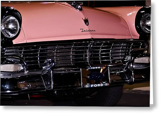 Blue Oval Greeting Cards - Flirtacious Fairlane Greeting Card by DigiArt Diaries by Vicky B Fuller