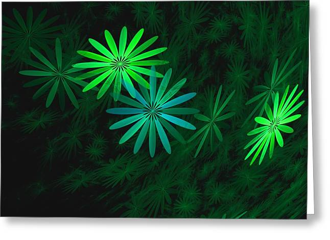 Phot Greeting Cards - Floating Floral-007 Greeting Card by David Lane