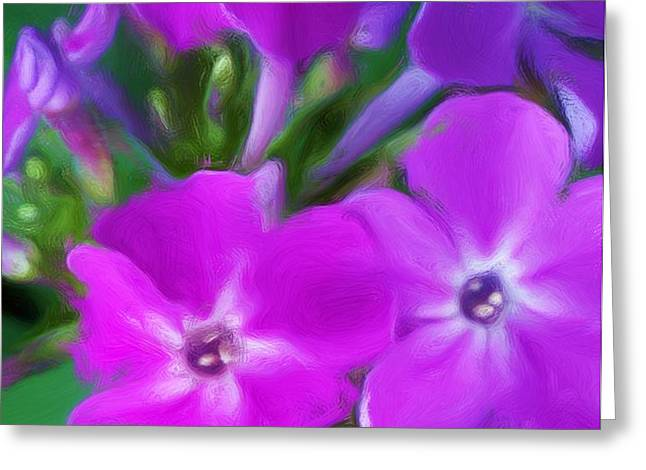 Floral Expression 2 021911 Greeting Card by David Lane