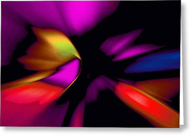 Subtle Colors Greeting Cards - Floral IV Greeting Card by John Neumann