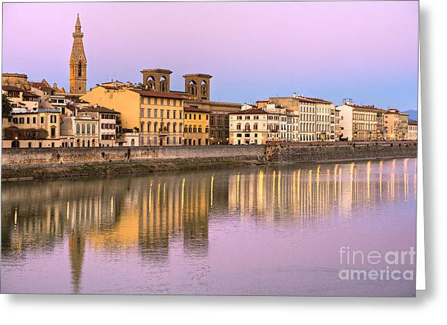 Europe Greeting Cards - Florence Greeting Card by Luciano Mortula