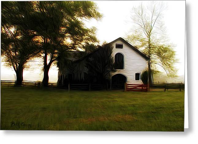 Erdenheim Farm Greeting Cards - Flourtown Greeting Card by Bill Cannon
