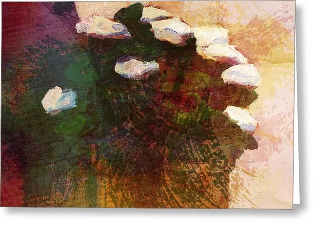 Flowerpot Greeting Cards - Flowerpot Window Greeting Card by Lutz Baar