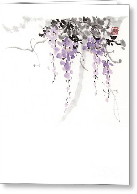 Flowers Greeting Card by Japan collection