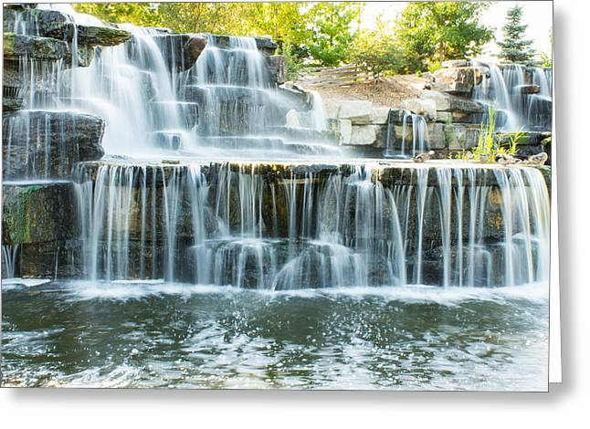Nature Center Greeting Cards - Flowing Beauty Greeting Card by Bill Pevlor