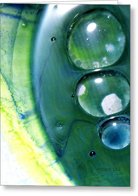 Aspect Mixed Media Greeting Cards - FLUIDISM Aspect 163 PHOTOGRAPHY Greeting Card by Robert G Kernodle
