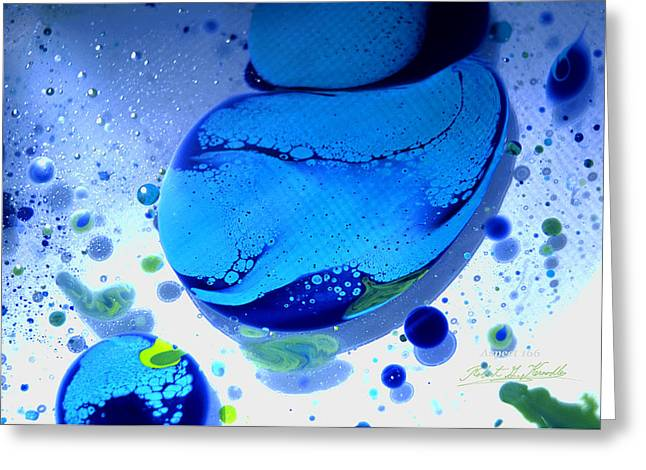 Aspect Mixed Media Greeting Cards - FLUIDISM Aspect 166 PHOTOGRAPHY Greeting Card by Robert G Kernodle