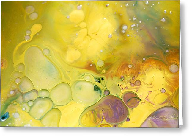 Aspect Mixed Media Greeting Cards - FLUIDISM Aspect 19 PHOTOGRAPHY Greeting Card by Robert G Kernodle