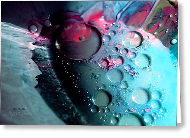Aspect Mixed Media Greeting Cards - FLUIDISM Aspect 283 PHOTOGRAPHY Greeting Card by Robert G Kernodle