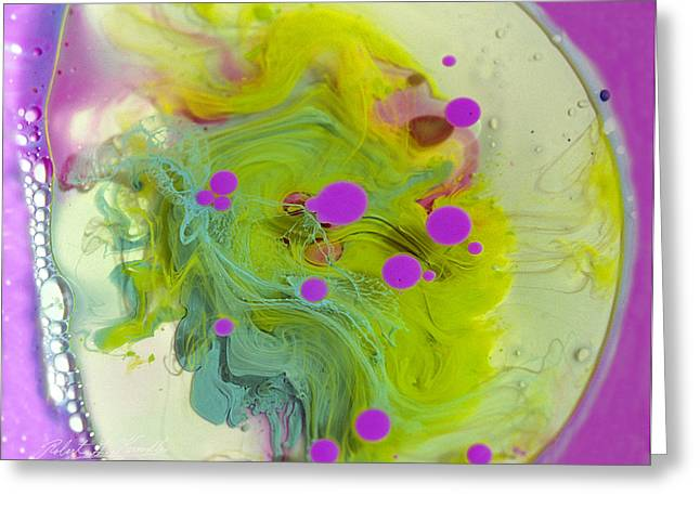 Aspect Mixed Media Greeting Cards - FLUIDISM Aspect 459 PHOTOGRAPHY Greeting Card by Robert G Kernodle