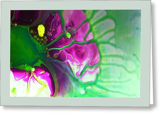 Fluidism Aspect 524 Frame Greeting Card by Robert Kernodle