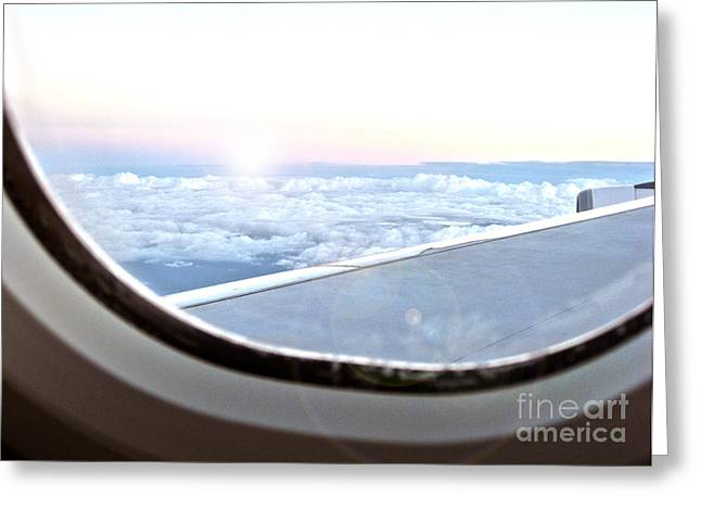 Joanne Kocwin Greeting Cards - Flying Home Greeting Card by Joanne Kocwin