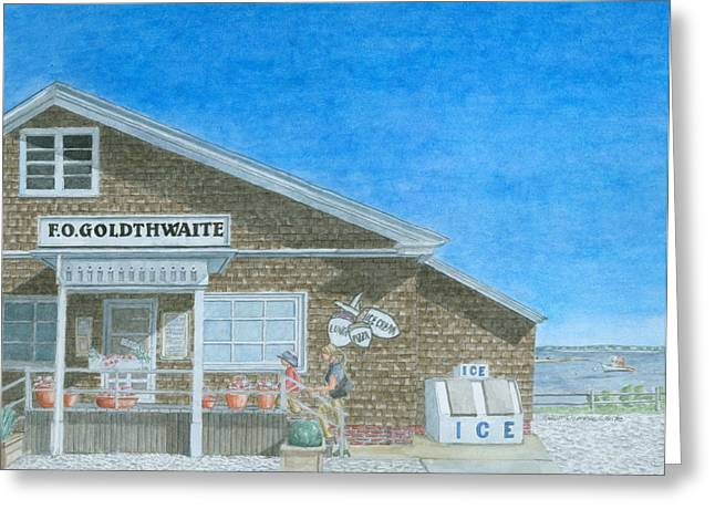 Store Front Greeting Cards - F.O. Goldthwaite Greeting Card by Dominic White