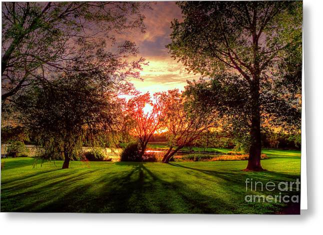 Kim Mixed Media Greeting Cards - Follow the Light Greeting Card by Kim Shatwell-Irishphotographer