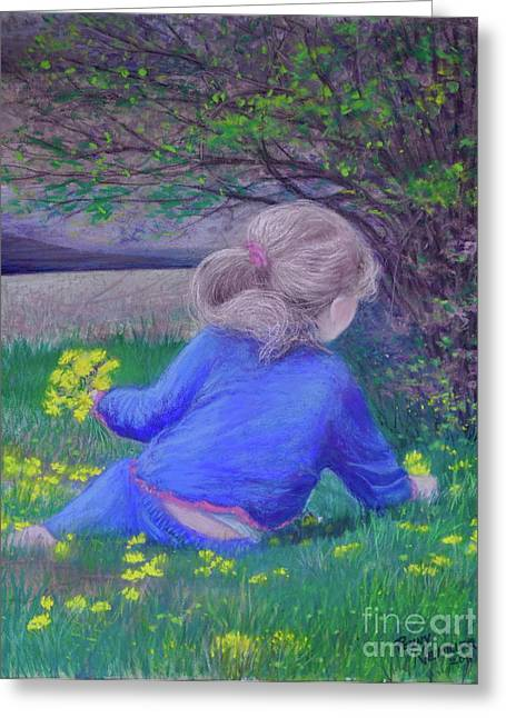 Picking Pastels Greeting Cards - Follow Your Heart Greeting Card by Penny Neimiller
