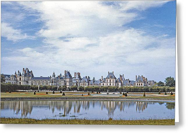 Fontainebleau Greeting Cards - Fontainebleau Palace  Greeting Card by Chuck Staley