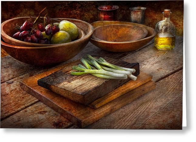 Food - Vegetable - Garden Variety Greeting Card by Mike Savad