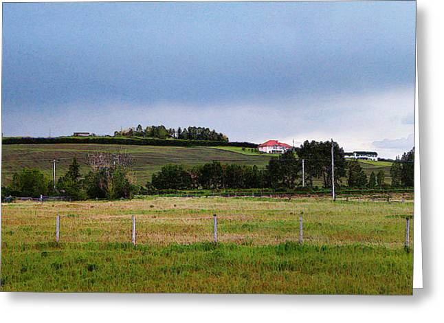 Alberta Foothills Landscape Greeting Cards - Foothills pano 1 Greeting Card by Stuart Turnbull