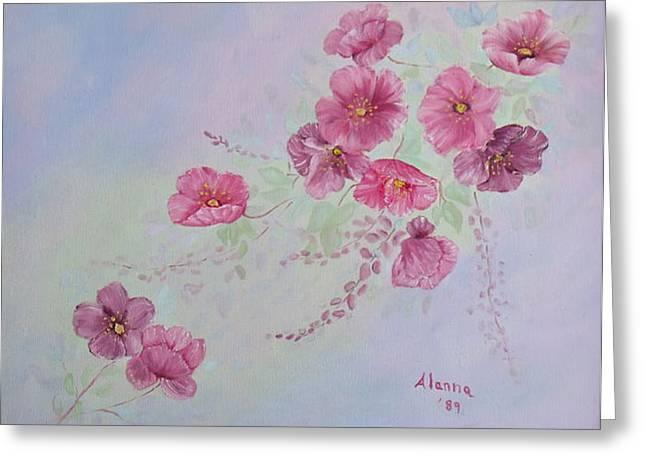 Alanna Hug-mcannally Greeting Cards - For Mom and Dad Greeting Card by Alanna Hug-McAnnally