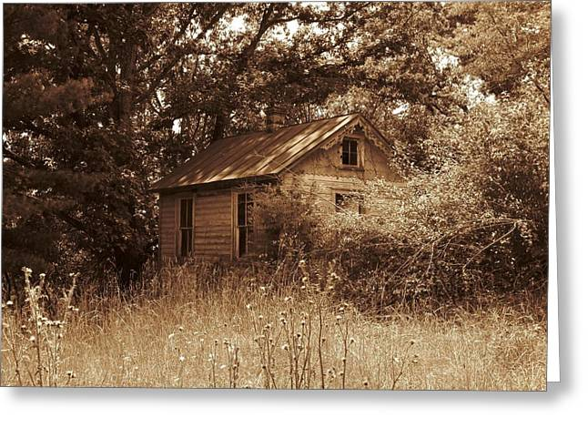 Abandoned Houses Greeting Cards - For Sale in WV Greeting Card by Joyce Kimble Smith