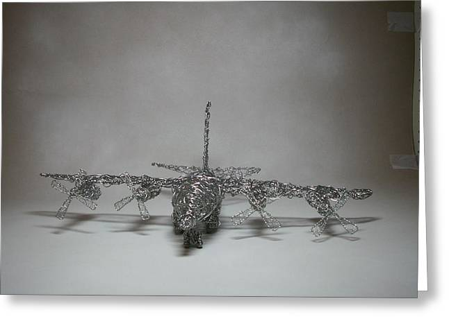 Air Sculptures Greeting Cards - For Seth Greeting Card by Charlene White