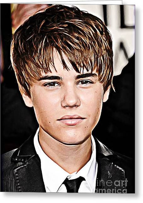 Hiphop Greeting Cards - For the Belieber in You Greeting Card by The DigArtisT