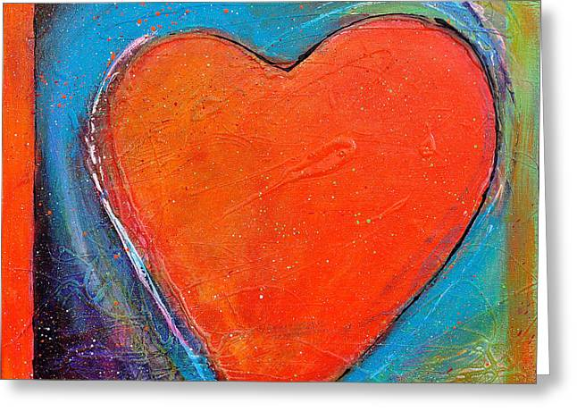 Valentin Greeting Cards - For You Heart 2 Greeting Card by Johane Amirault